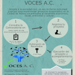 Cartel CONVOCATORIA  VOCES A.C. 2015